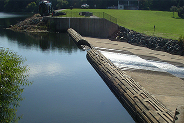 Canal and dam design construction and maintenance